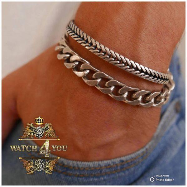 دستبند كارتيه سيلور(Cartier)