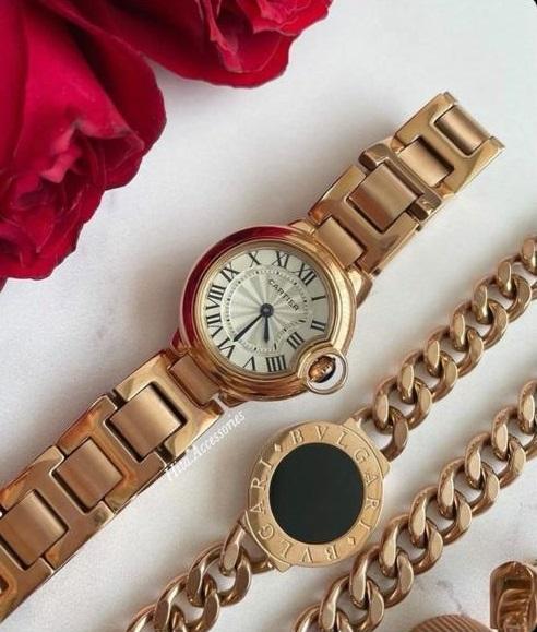 ساعت مچی زنانه موتور سوئیس کارتیر(Cartier)