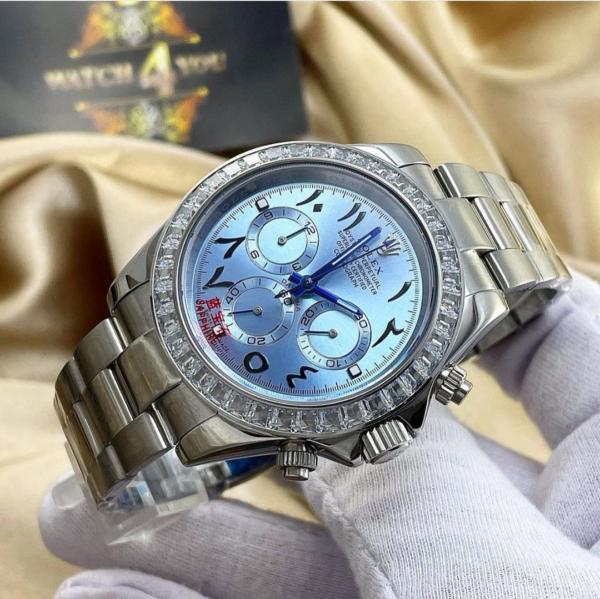 ساعت مچی مردانه نگین باگت رولکس(Rolex)